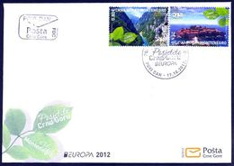 2012 FDC, Visit Montenegro, Montenegro, MNH - Montenegro