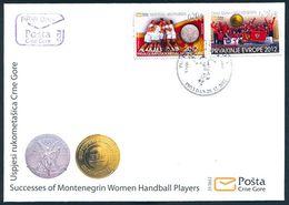 2012 FDC, Sports, Handball, Montenegro, MNH - Montenegro