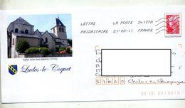 Pap Beaujard Flamme Chiffrée Illustré Ludes Le Toquet - Prêts-à-poster:Overprinting/Beaujard