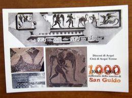 Arte Pavimento Cattedrale ACQUI TERME 2004 Millenario San Guido -  CARTOLINA Non  Viaggiata - Paintings
