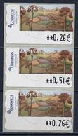 Espagne - Spain - Spanien Distributeur 2003 Y&T N°D85 - Michel N°ATM85 *** - L'automne - 3 Timbres - Poststempel - Freistempel