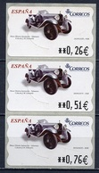 Espagne - Spain - Spanien Distributeur 2004 Y&T N°D94 - Michel N°ATM94 *** - Donosti 1928 - 3 Timbres - Poststempel - Freistempel