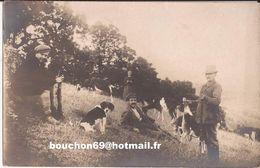26 Editeur à Valence Chasse Lapins Chien Chasseur Carte-photo Goat Chevre - Sonstige Gemeinden