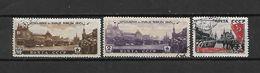 URSS - 1946 - N. 1040/42 USATI (CATALOGO UNIFICATO) - 1923-1991 USSR