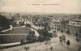 Cambrai - Panorama Des Boulevards - Cambrai