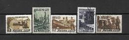 URSS - 1946 - N. 1067/71 USATI (CATALOGO UNIFICATO) - Oblitérés
