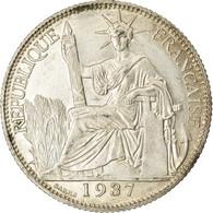 Monnaie, FRENCH INDO-CHINA, 20 Cents, 1937, Paris, SUP, Argent, KM:17.2 - Colonies