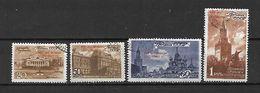 URSS - 1947 - N. 1117/20 USATI (CATALOGO UNIFICATO) - 1923-1991 USSR