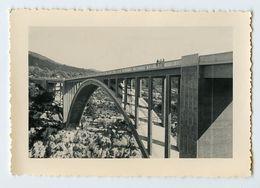 Snapshot GORGES DU VERDON Pont Sublime à Situer Identifier Perspetive Pov 50s Paysage Mini Figure Bridge Tiny - Lieux