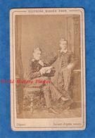 Photo Ancienne CDV Vers 1870 - Portrait Des Grands Ducs Serge & Paul De RUSSIE - Photographe Victoire Didier - Fotos