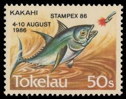 Tokelau 1986 - Mi-Nr. 129 ** - MNH - Fische / Fish - Tokelau