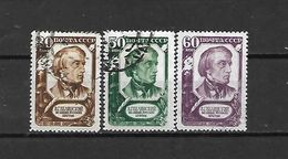 URSS - 1948 - N. 1218/20 USATO (CATALOGO UNIFICATO) - 1923-1991 USSR