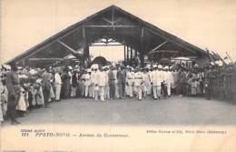 DAHOMEY ( Actuel BENIN ) PORTO-NOVO : Arrivée Du Gouverneur - CPA - Afrique Noire - Black Africa - Dahomey