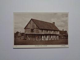 Elstow. - The Moot Hall. - Angleterre