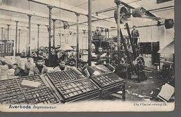 K3/  AVERBODE 1907   IMPRIMERIE - Non Classés