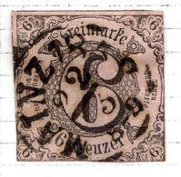 ALLEMAGNE - Tour Et Taxis (Etats Du Sud) - 1852 - N° 34 - 6 Kreuzer Rose - Tour Et Taxis
