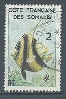Cote Des Somalis YT N°293 Poisson Hémioque Oblitéré ° - Oblitérés