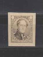 Projet Non Adopté Jules Delpierre Médaillon Léopold I Brun épreuve De 1849 - Proofs & Reprints
