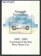 Grenada And Grenadines 1993 Mi Bl 295 MNH ( ZS2 GGRbl295 ) - Voitures