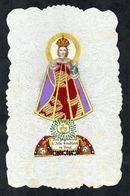 Santino Manufatto: BAMBIN GESU' DI PRAGA - Praga - Puntinato Ad Ago - CONDIZIONE: OTTIMA - DIMENSIONI: 77 X 125 - Religion & Esotericism