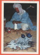 MAURITANIA - MAURITANIE - 2007 - 320 Lacerta Agama, Linnaeus, Lizard - Cérémonie Du Thé - Viaggiata Da Nouakchott Per Fo - Mauritanie