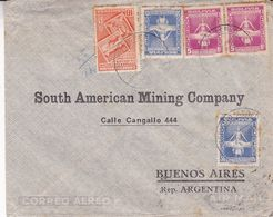 BOLIVIE ENVELOPPE COMMERCIAL, CIRCULEE LA PAZ A BUENOS AIRES, ARGENTINE ANNEE 1944 PAR AVION  -LILHU - Bolivia