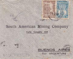 BOLIVIE ENVELOPPE COMMERCIAL, CIRCULEE LA PAZ A BUENOS AIRES, ARGENTINE ANNEE 1943 PAR AVION  -LILHU - Bolivia