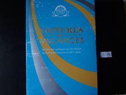 """FRANCE 2020 COFFRET """" VOITURES & VACANCES """"  3 COLLECTORS  De 4 Timbres Lettre Verte ADHESIF + 12 CARTES POSTALES - Collectors"""