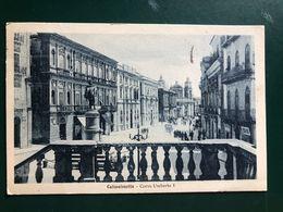 CALTANISSETTA CORSO UMBERTO I 1926 - Caltanissetta