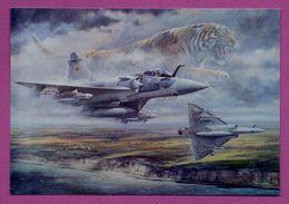 Mirage 2000 C-103. Escadron De Chasse 1/12 Cambrésis. Reims - 1946-....: Ere Moderne