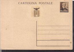 Italia - Poste Repubblica Sociale Italiana - 1944/5 - Non Circulee - Cygnus - 4. 1944-45 Repubblica Sociale