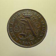 Belgium 2 Centimes 1911 - 1909-1934: Albert I