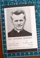 Necrologio Luttino - Salesiano Sacerdote GIOVANNI TRUSSARDI (nascita 1904 , Morte 1968 Bologna) - Obituary Notices