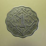 British India 1 Anna 1935 - Colonies