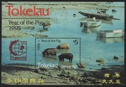 Tokelau 1995 - Mi-Nr. Block 4 II ** - MNH - SINGAPORE '95 - Tokelau
