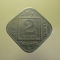 British India 2 Annas 1936 - Colonies