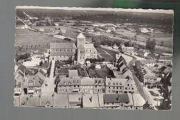 CP (50) En Avion Au Dessus De ... Lessay  -  Abbaye - Other Municipalities