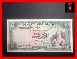 Ceylon - Sri Lanka  10 Rupees  6.10.1975  P. 74 A  UNC- - Sri Lanka