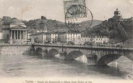 CPA - Italie - Torino / Turin - Monte Dei Cappuccini E Chiesa Gran Madre Di Dio - Pont - Bridges