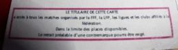 Carte Licence Ayant Droit District De Provence Perimée 2018/Autres Collections Sports Fédération Française De Football - Fútbol