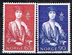 NORVEGE / Oblitérés/Used/ 1969 - Centenaire De La Naissance De La Reine Maud - Gebraucht