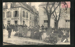 CPA Pithiviers, Marché Aux Fromages - Pithiviers
