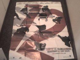 Affiche Ocean's Twelve 120cm X160 Cm George Clooney Brad Pitt Matt Damon Catherine Zeta-Jones Julia Roberts - Affiches & Posters