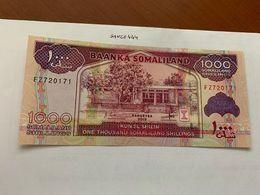 Somalia 1000 Shillings Uncirc. Banknote 2015 - Somalia