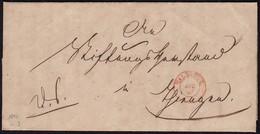 Baden - WALDSHUT K2r Alter Brief Mit Interessanten Inhalt 1847   (15847 - Baden