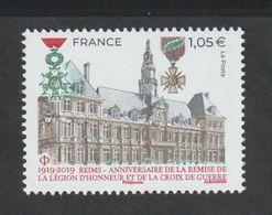 TIMBRE - 2019 - N° 5338 -  Reims  Centenaire De La Remise De La Légion D' Honneur   - Neuf Sans Charnière - - Färöer Inseln