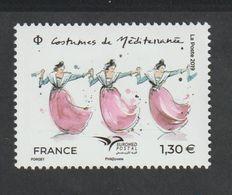 TIMBRE - 2019 - N° 5339 - Euromed , Costumes De Méditerranée   - Neuf Sans Charnière - - Färöer Inseln
