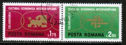 ROMANIA  Scott # 2327-8 VF USED (Stamp Scan # 677) - 1948-.... Republiken