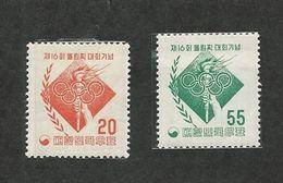 KOREA; MELBOURNE OLYMPICS - Sommer 1956: Melbourne