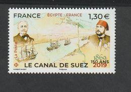 TIMBRE - 2019 -   N° 5347  -  150éme Anniversaire Du Canal De Suez -   Neuf Sans Charnière - - Féroé (Iles)
